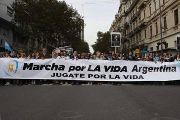 """... und der """"Marsch für das Leben"""" von Abtreibungsgegnern"""