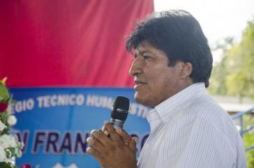 Der bolivianische Präsident Evo Morales hat eine Programmatik für die Jahre bis zum 200-jährigen Staatsbestehen diskutiert