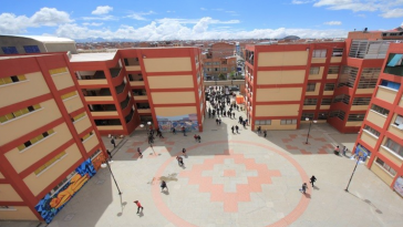 Campus der UPEA in Bolivien