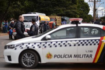 Die Lkw-Fahrer streiken in Brasilien seit über einer Woche und legen damit auch den Transport von Treibstoff lahm