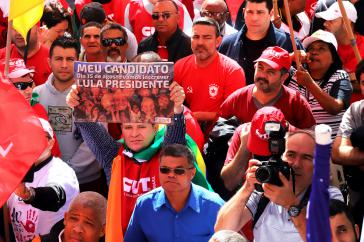 "Demonstration am ""Dia do Basta!"", am Tag des ""Es reicht uns!"" in São Paulo"