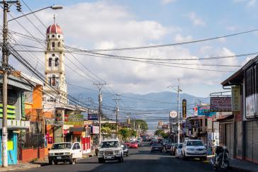 Straßenbild aus San José, Costa Rica: Bei den heutigen Wahlen deutet sich ein Rechtsruck an