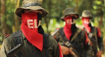 Guerilleros der ELN in Kolumbien