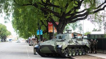 Vier Tage G20-Ausnahmezustand in Buenos Aires: über 20.000 Polizisten, Panzer, weiträumig abgesperrte Straßen, geschlossene Bahnhöfe, Häfen und Flugplätze, kaum Metro-Betrieb