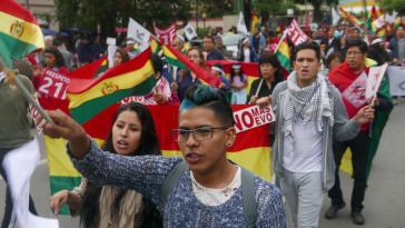 Auch die Gegner einer Wiederwahl von Morales gingen in Cochabamba, der viertgrößten Stadt Boliviens, auf die Straße