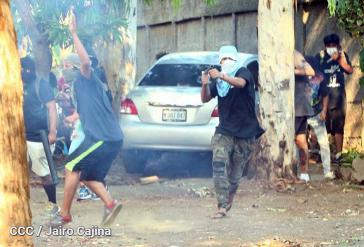 Der radikalere Teil der Opposition will die Regierung und die FSLN auf gewalttätige Art und Weise loswerden