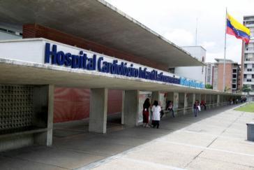 Investitionen sollen auch dem bekannten Kinderkrankenhaus für Kardiologie in Caracas zufließen