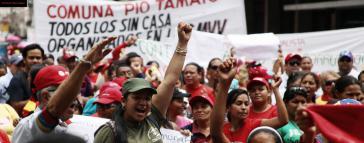 Aktivisten der Kommune Pio Tamayo in Venezuela