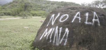 """""""Kein Bergbau"""" fordern viele Menschen in Mexiko"""
