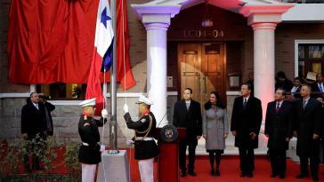 Eröffnung der Botschaft von Panama in China