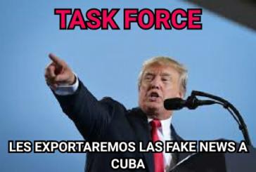 """""""Wir exportieren fake news nach Kuba"""". Im Januar 2018 hat die US-Regierung die Gründung einer Task Force vermeldet, um """"den freien und unregulierten Informationsfluss in Kuba zu befördern."""""""