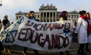 Streik im Bildungs- und Gesundheitswesen von Uruguay in dieser Woche
