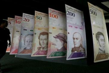 Der Bolívar Soberano (Souveräner Bolivar, Bs.S) in Venezuela ist auch nicht mehr viel wert