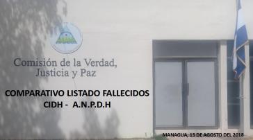 Die Wahrheitskommission in Nicaragua legte ihren Vorbericht vor