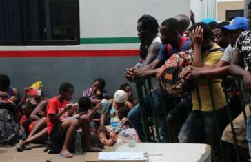 Die Situation von Migranten aus Afrika im Süden Mexikos ist seit Wochen äußerst prekär