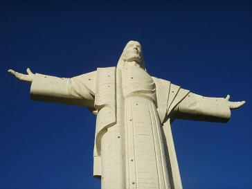Christus-Statue über Cochabamba, Bolivien