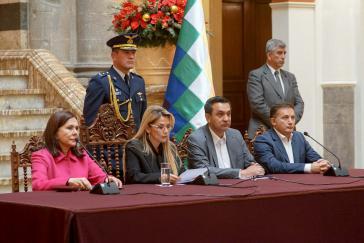 Die Führung unter Senatorin Jeanine Áñez wendet sich gegen das Lithium-Geschäft mit Deutschland