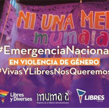"""Die Organisation """"Frauen für das Lateinamerikanischen Mutterland"""" (MuMaLa) haben eine Petition für einen Nationalen Gendernotstand gestartet"""