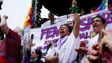 """Auf der """"Feministischen Versammlung des Abya Yala"""" kamen indigene Feministinnen zusammen"""