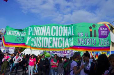 Die Forderung nach sicherer, legaler und kostenfreier Abtreibung war ein zentrales Thema der Konferenz