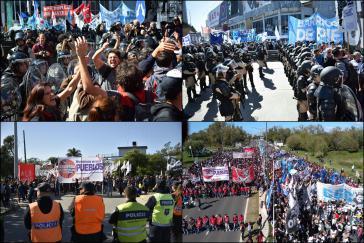 Landesweiter Protesttag in Argentinien am 20. März gegen die neoliberale Politik der Regierung Macri