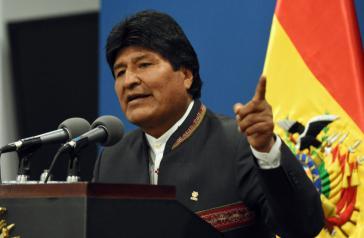 Präsident Morales hat seine Gegner aufgefordert, die Überprüfung des Wahlergebnisses durch die OAS abzuwarten