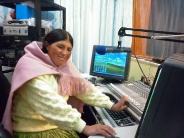 Von den Putschisten bedroht: Radiostationen der indigenen Gemeinden