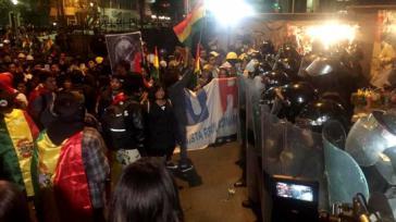 Die zum Teil gewaltsamen Proteste gegen die Regierung Morales reißen nicht ab