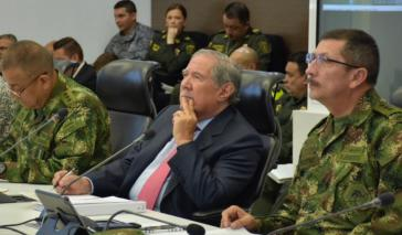 Kolumbiens ehemaliger Verteidigungsminister Guillermo Botero