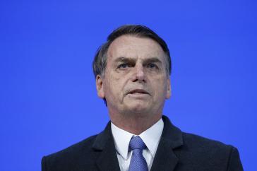 Er war bemüht: Bolsonaro bei Rede über Brasilien in Davos