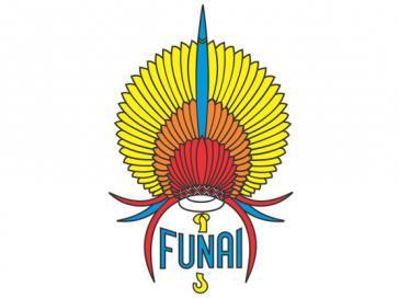 Logo der Funai. Die Indigenenbehörde soll auf Bolsonaro-Kurs gebracht werden