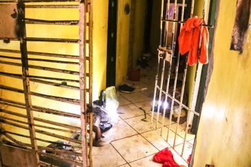 Zellentrakt im Gefängnis Altamira im brasilianischen Bundesstaat Pará