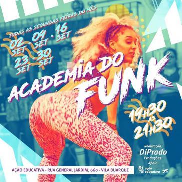 Renata Prado, Funktänzerin aus São Paulo, gibt auch Unterricht