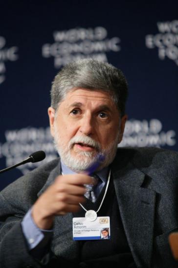 """Für eine """"Achse des Guten"""" in Lateinamerika: Celso Amorim"""