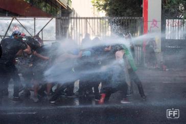 Polizeigewalt in Chile gegen Demonstrierende