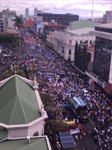 In Costa Rica soll nach dem großen Generalstreik vom letzten Jahr nun das Streikrecht eingeschränkt werden
