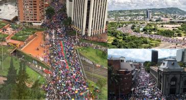 Massenproteste am ersten Streik-Tag in Bogotá, Medellín und Cartagena