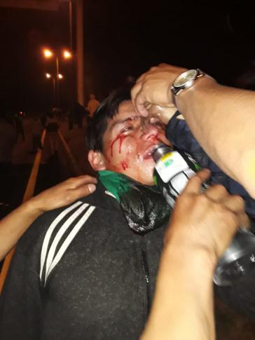 In der Provinz Cotopaxi in Ecuador ging die Armee massiv gegen Demonstranten vor