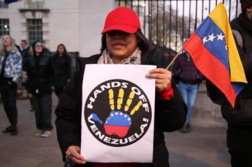 Protest gegen Intervention der USA
