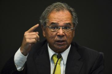 Sieht bei einer roten Zukunft in Argentinien schwarz: Brasiliens Wirtschaftsminister Paulo Guedes