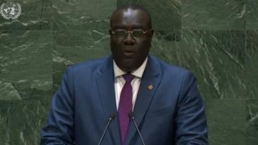 """Haitis Außenminister Edmond vor der UNO: """"Regierung ist sich der Verantwortung bewusst"""""""