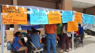 Gegner des illegalen Bergbaus in Honduras bleiben beharrlich