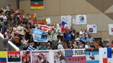 Auf die Konferenz kamen Teilnehmer aus verschiedenen lateinamerikanischen Ländern