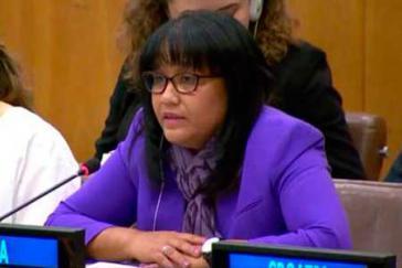 Die bisherige Vertreterin Kubas bei den Vereinten Nationen, Anayansi Rodríguez, ist neue Vizeministerin im Außenministerium