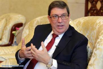 Bruno Rodríguez im Interview mit der staatlichen chinesischen Nachrichtenagentur Xinhua