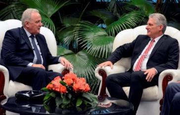 EU-Kommisar Mimica zu Gast bei Kubas Präsident Díaz-Canel