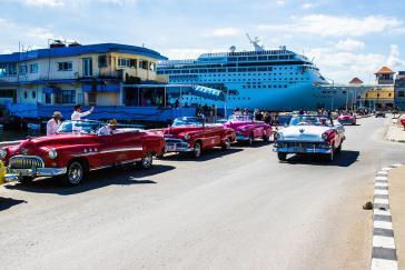Für viele Touristen ein Traum: Mit dem Kreuzfahrtschiff direkt nach Havanna