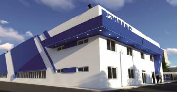 So soll die geplante Fabrik der deutschen PAMAS S.A. in Mariel aussehen