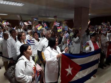 Mediziner, die in Ecuador gearbeitet hatten