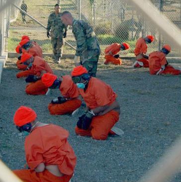 Gefangenenlager in Guantánamo Bay, hier in einer Aufnahme aus dem Jahr 2002